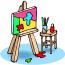 Kísérleti képzőművészeti technikák alkalmazása a tehetséges és a fejlődési zavarokkal küszködő gyermekekkel folytatott munkában, 2013.12.13-14.